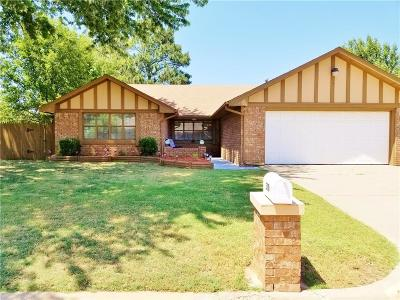 Chickasha OK Single Family Home For Sale: $140,000