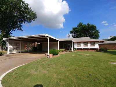 Del City Single Family Home For Sale: 1510 Shalimar Drive