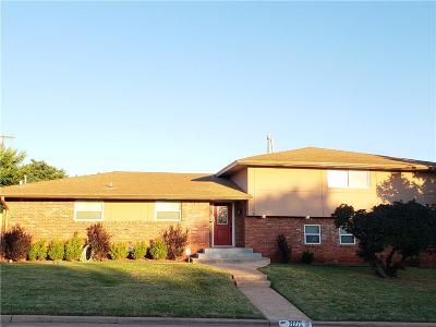 Oklahoma City OK Single Family Home For Sale: $171,000