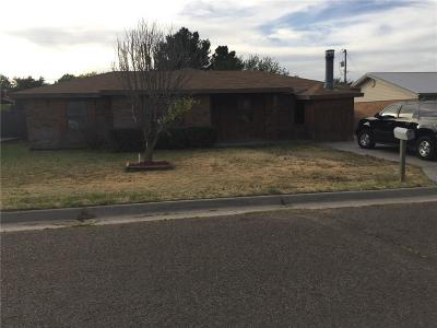 Guymon OK Single Family Home For Sale: $62,500