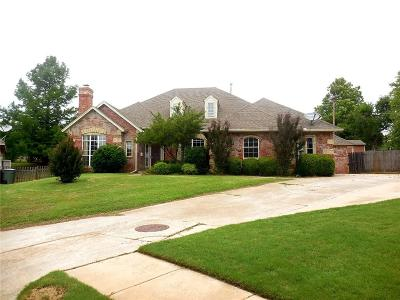 Canadian County, Oklahoma County Single Family Home For Sale: 208 Ainsley Court