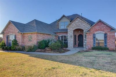 Blanchard OK Single Family Home For Sale: $449,900