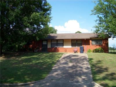 Stroud OK Single Family Home For Sale: $69,500
