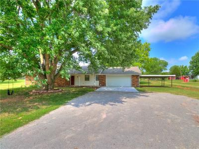 Tuttle Single Family Home For Sale: 1109 N Sara Road