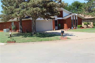 Altus Single Family Home For Sale: 1517 Cambridge