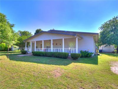 Marshall OK Single Family Home For Sale: $99,000