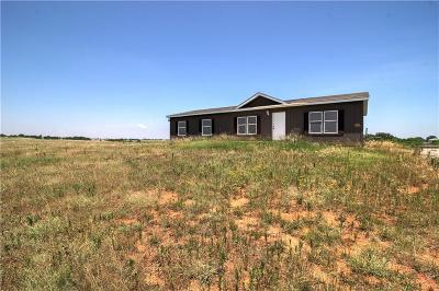 Chickasha OK Single Family Home For Sale: $68,000