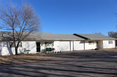 Mangum Multi Family Home For Sale: 202 N Louisiana
