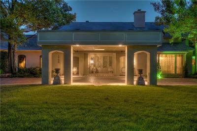 Nichols Hills Single Family Home For Sale: 1700 Drury Lane
