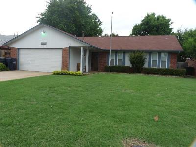 Yukon Single Family Home For Sale: 10223 Fairfax