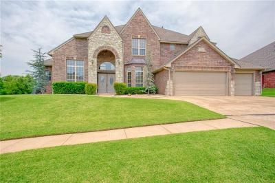 Lincoln County, Oklahoma County Single Family Home For Sale: 521 NW 155th Circle