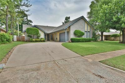 Edmond Single Family Home For Sale: 3505 S Patterson Drive