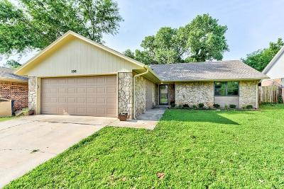 Midwest City Single Family Home For Sale: 108 Cambridge