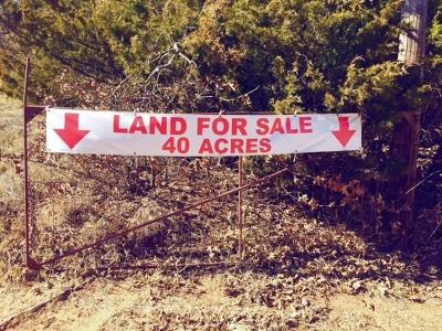 Luther Residential Lots & Land For Sale: Harrah Newalla Road #40 Acres