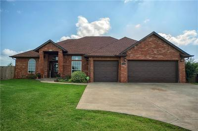 McLoud Single Family Home For Sale: 410 Dana Lane