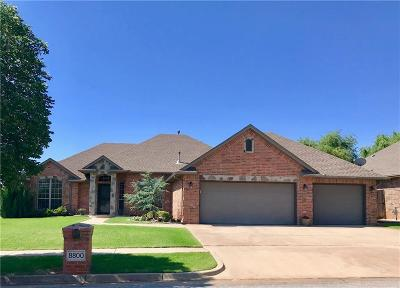Oklahoma City Single Family Home For Sale: 8800 NW 113th Street