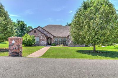Blanchard OK Single Family Home For Sale: $249,000