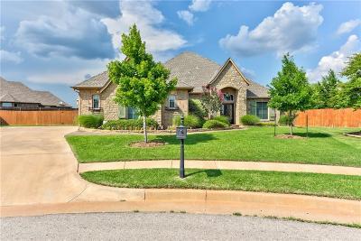 Lincoln County, Oklahoma County Single Family Home For Sale: 16216 James Thomas Court