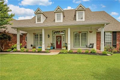 Choctaw Single Family Home For Sale: 16674 Roserock Circle