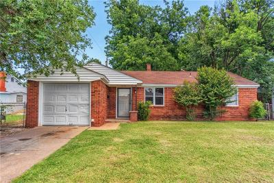 Midwest City Single Family Home For Sale: 1202 Stansell Drive