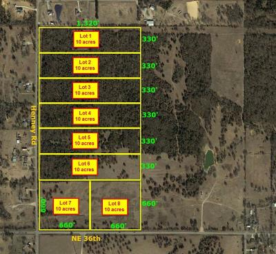 Choctaw Residential Lots & Land For Sale: 3700 N Henney