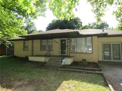 Shawnee Single Family Home For Sale: 2110 N Union Avenue