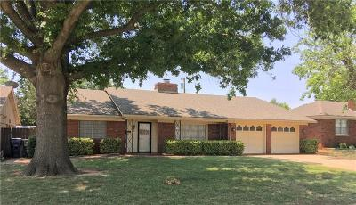 Chickasha OK Single Family Home For Sale: $109,000