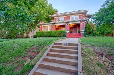 Oklahoma City Single Family Home For Sale: 224 NW 19th Street