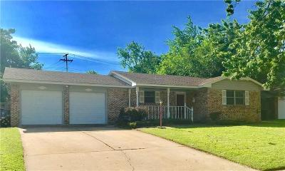 Midwest City Single Family Home For Sale: 3516 Meadowbrook Drive