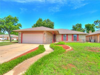 Oklahoma City Single Family Home For Sale: 1529 Craford Court