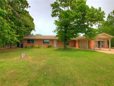Blanchard OK Single Family Home For Sale: $185,000
