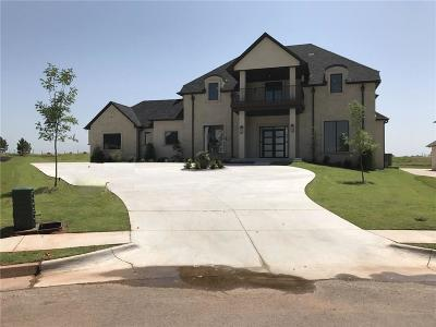 Edmond Single Family Home For Sale: 17812 Blue Heron