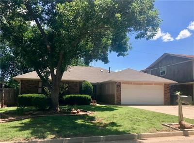 Oklahoma City Single Family Home For Sale: 6704 Elk Canyon Road