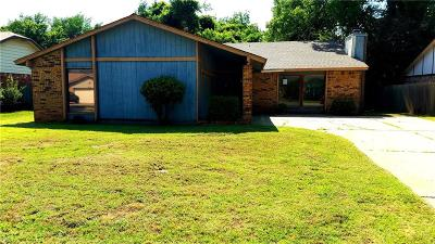 Midwest City Single Family Home For Sale: 3121 Del Rey Drive