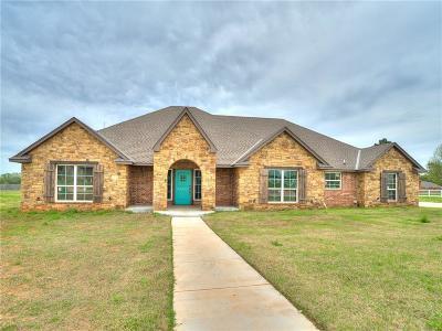 McLoud Single Family Home For Sale: 12939 Meadow Ridge