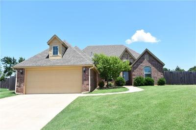 Edmond Single Family Home For Sale: 424 Kristy Drive
