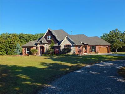 McLoud Single Family Home For Sale: 30154 Hardesty Road