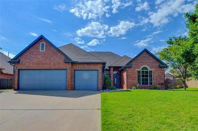 Choctaw Single Family Home For Sale: 13150 Red Oak Drive