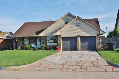 Oklahoma City OK Single Family Home For Sale: $169,900