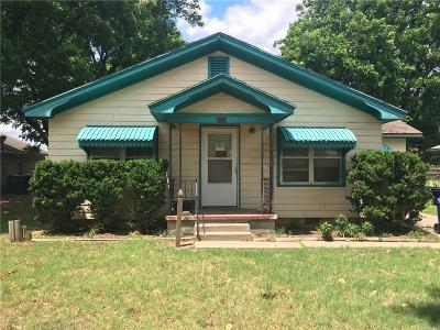 Chickasha OK Single Family Home For Sale: $52,900
