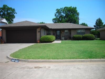 Oklahoma City OK Single Family Home For Sale: $111,900