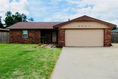 Chickasha OK Single Family Home For Sale: $109,900