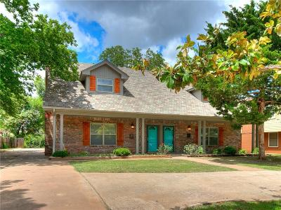 Oklahoma County Multi Family Home For Sale: 1841 NW 42nd Street