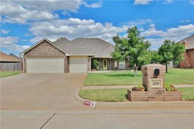 Mustang Single Family Home For Sale: 308 N Amethyst Way