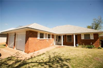 Oklahoma City Single Family Home For Sale: 1405 NW 105th Street