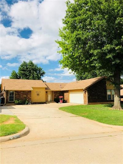 Midwest City Single Family Home For Sale: 9713 Kent Drive