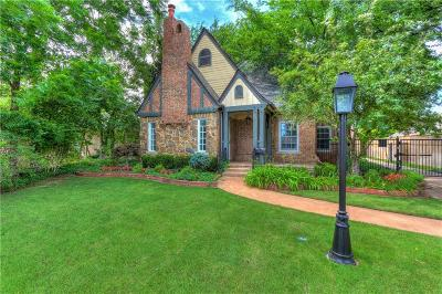 Nichols Hills Single Family Home For Sale: 1121 Glenwood Avenue