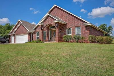 Blanchard OK Single Family Home For Sale: $249,900