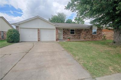 Moore OK Single Family Home For Sale: $125,000
