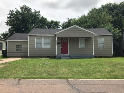 Midwest City Single Family Home For Sale: 1111 Jet Drive